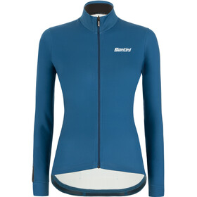 Santini Color LS Jersey Women petrol